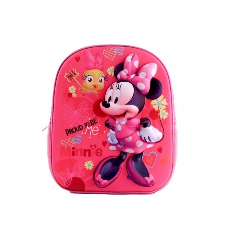 Ghiozdan 3D Minnie Mouse