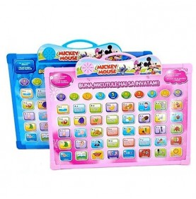 Tableta educativa Mickey Mouse 2 in 1 in limba romana