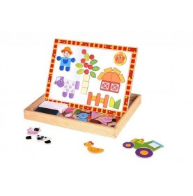Tooky Toy Tabla Magnetica Ferma