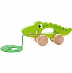 Tooky Toy Crocodil de tras