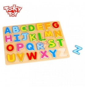 Tooky Toy Puzzle Litere