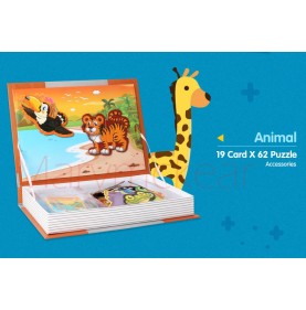 Puzzle magnetic Animale