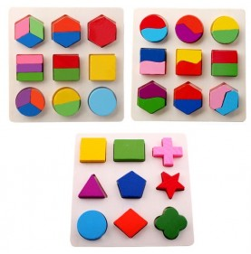 Puzzle forme geometrice